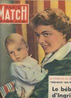 LE PARIS MATCH DE VOTRE NAISSANCE N° 65 DATE DU 17-06-1950..PORT GRATUIT Réf C40 - Livres, BD, Revues