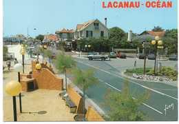 - CPM LACANAU-OCEAN (33) - La Rue Principale 1989 - Editions YVON 0152 - - France