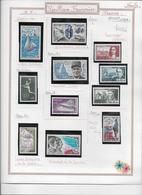 France Collection Timbres Neufs ** - 1970/1973 - 24 Scans - France