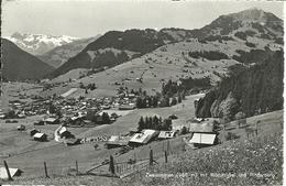Zweisimmen (Berne, Svizzera) Mit Wildstrubel Und Rinderberg, Vue Generale, General View, Gesamtansicht - BE Berne