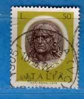 Italia °- 1974 - ARTISTI ITALIANI, MANTEGNA.  Unif. 1252.  Vedi Descrizione. - 1946-.. République