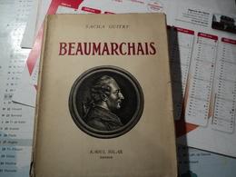 BEAUMARCHAIS. 1950. SACHA GIUTRY. RAOUL SOLAR EDITEUR BOIS GRAVES PAR HENRI JADOUX. PIECE DE THEATRE - Théâtre