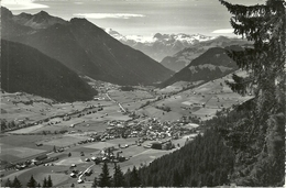 Zweisimmen (Berne, Svizzera) Mit Wildstrubel, Razligletscher, Gletscherhorn, Rohrbachstein, Vue Generale, Gesamtansicht - BE Berne