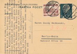 STAROGARD -  1938 ,  Druckvermerk:  X-1937  -  Karta Pocztowa  Nach Berlin-Britz - Ganzsachen