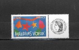 France  2004 Neuf **  Feuillet De 5  Timbres  3725A    Logo  Ceres -  Meilleurs Voeux -  ( Gomme Brillante ) - Frankreich