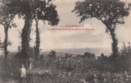50 - CHAMPEAUX - Le Mont Saint-Michel Vu Du Hameau De Bonneville - France