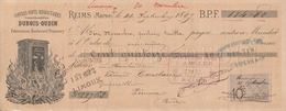 Reims - Coffres-forts Réfractaires DUBOIS-OUDIN - 1897 - France