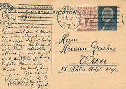 LWOW -  1939 ,  Druckvermerk:  VI-1938  -  Karta Pocztowa  Nach WIEN - Ganzsachen