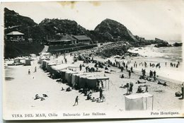 BALNEARIO LAS SALINAS - VIÑA DEL MAR, CHILE. POSTALE CIRCA 1925's NON CIRCULE - LILHU - Chile