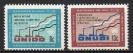 Nations Unies (New-York) - 1968 - Yvert N° 179 & 180 ** - New-York - Siège De L'ONU