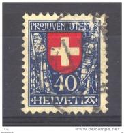 Suisse  -  1923  :  Yv  195  (o)                   ,        N3 - Oblitérés