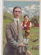 Allemagne - Seppetoni Aus Appenzell (Schweiz) Der Kleinste Mann Der Welt - Autres