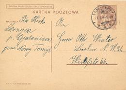 OPALENICA -  1939 ,  Druckvermerk:  X-1938  -  Karta Pocztowa  Nach Berlin - Ganzsachen