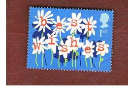GRAN BRETAGNA.GREAT BRITAIN -  SG 2264 -  2002 GREETINGS STAMPS:  OCCASION (BEST WISHES)  - USED - 1952-.... (Elisabetta II)