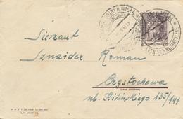 KAZIMIERZ DOLNY -  I.VIII.1939 ,  Druckvermerk:  X-1938  -  Ganzsachenumschlag  An Einen Soldaten In Cestochowa - Ganzsachen