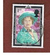 GRAN BRETAGNA.GREAT BRITAIN -  SG 2280 -  2002 THE QUEEN MOTHER COMMEMORATION   - USED - 1952-.... (Elisabetta II)