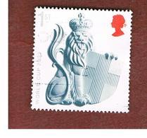 GRAN BRETAGNA.GREAT BRITAIN -  SG 2291  -  2002 WOORLD CUP FOOTBALL: CROWNED LION   - USED - 1952-.... (Elisabetta II)