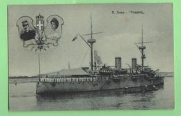 Regia Marina Nave Vesuvio Navires Ships Corvetta - Guerra