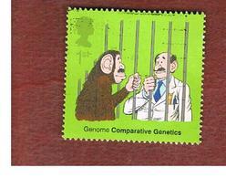 GRAN BRETAGNA.GREAT BRITAIN -  SG 2344  -  2003  DNA DISCOVERY  - USED - 1952-.... (Elisabetta II)
