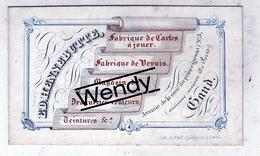 Gent (originele Porseleinenkaart Fabriqué De Cartes à Jouer - Ft 6,5x10,5) - Gent