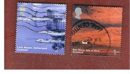 GRAN BRETAGNA.GREAT BRITAIN -  SG 2385.2386  -  2003 SCOTLAND   - USED - 1952-.... (Elisabetta II)