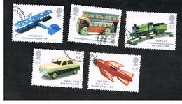 GRAN BRETAGNA.GREAT BRITAIN -  SG 2397.2401  -  2003 TOYS (COMPLET SET OF 5)   - USED - 1952-.... (Elisabetta II)