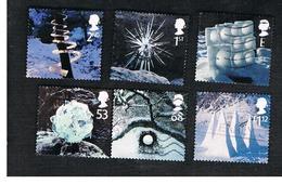 GRAN BRETAGNA.GREAT BRITAIN -  SG 2410.2414  -  2003  CHRISTMAS (COMPLET SET OF 6)  - USED - Usati