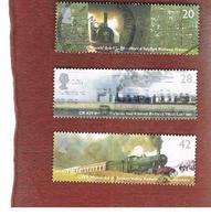 GRAN BRETAGNA.GREAT BRITAIN -  SG 2417.2420  -  2004 CLASSIC LOCOMOTIVES  - USED - 1952-.... (Elisabetta II)