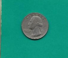 Pièce 1/4 Dollar Liberty 1967 - 1932-1998: Washington