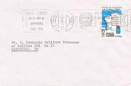 32504. Carta LAS PALMAS (Canarias) 1981. Rodillo ARUCAS, Año DORAMAS - 1931-Hoy: 2ª República - ... Juan Carlos I