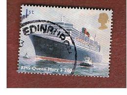 GRAN BRETAGNA.GREAT BRITAIN -  SG 2448  -  2004  SHIPS: QUEEN MARY 2   - USED - 1952-.... (Elisabetta II)