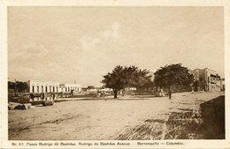 PASEO RODRIGO DE BASTIDAS. RODRIGO DE BASTIDAS AVENUE - BARRANQUILLA, COLOMBIA. POSTAL CIRCA 1920's NON CIRCULE - LILHU - Colombia