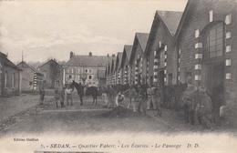 08 - SEDAN - Quartier Fabert - Les Ecuries - Le Pansage - Sedan