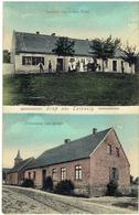 Kaleńsko - Gruss Aus CALENZIG - Stare Kaleńsko - Gmina Czaplinek - Woiwodschap West-Pommeren - Gasthof Schulhaus Kirche - Polen