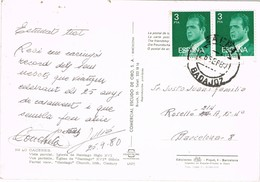 32508. Postal ZAFRA (Badajoz) 1980. Vista Iglesia De Santiago De Caceres - 1931-Hoy: 2ª República - ... Juan Carlos I