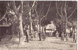 Saint Martin Vésubie L'allée Des Platanes - Saint-Martin-Vésubie