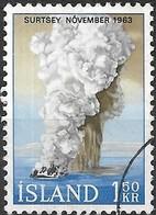 ICELAND 1965 Birth Of Surtsey Island - 1k50 Eruption, November 1963 FU - Used Stamps