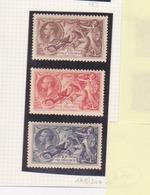 Timbres N° 198-199-200 Réf Yvert Et Tellier - 1902-1951 (Kings)