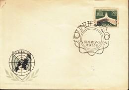 Polonia 1958 FDC UNESCO Nazioni Unite . - FDC