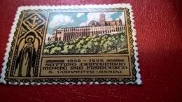 ERINNOFILI VIGNETTE CINDERELLA - 1926 SAN FRANCESCO - ASSISI - Erinnofilia