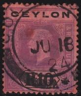Ceylon      .   SG      .  318   Die I       .   O      .       Cancelled      .   /    .   Gebruikt - Ceylon (...-1947)