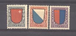 Suisse  :  Yv  176-78  * - Nuevos