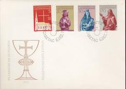 Liechtenstein - 1966 - Chiesa Di Vaduz - Nn.418/421 - Busta FDC. - FDC