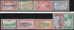 Cook  Islands     .   SG   .  150/159  (158 Missing ; 159: O)     .   *     .       Mint-hinged .   /    .   Ongebruikt - Cookeilanden