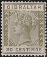 Gibraltar    .   SG   .  24    .   (*)      .      No Gum      /    .   Geen Gom - Gibraltar