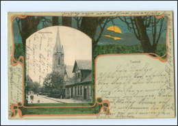 U6491-2117/ Tostedt  Himmelsweg  Litho AK Knackstedt & Näther No. 203   1902 - Deutschland
