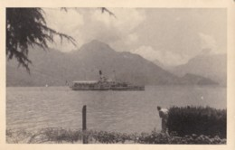 AN96 Lake With A Tourist Boat - Plain Back - Ships