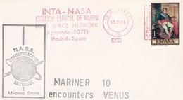 MARINER - 10, Encounters VENUS, INTA-NASA,Estacion Espacial De Madrid, 05-02'74 - Europa