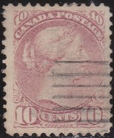 Canada    .   SG   .  87   .      O   .     Cancelled      /    .   Gebruikt - 1851-1902 Regering Van Victoria