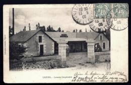 CPA ANCIENNE- FRANCE- LIGUEIL (37)- LAITERIE COOPERATIVE  EN GROS PLAN- L'ENTRÉE- - Francia